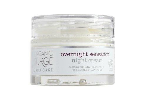 Organic Surge Organic Moisturiser - Overnight Sensation Night Cream