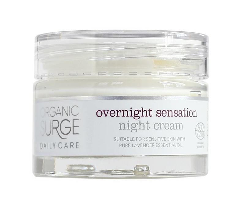 Organic Moisturiser - Overnight Sensation Night Cream