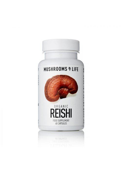 Mushrooms 4 Life Organic Reishi Capsules