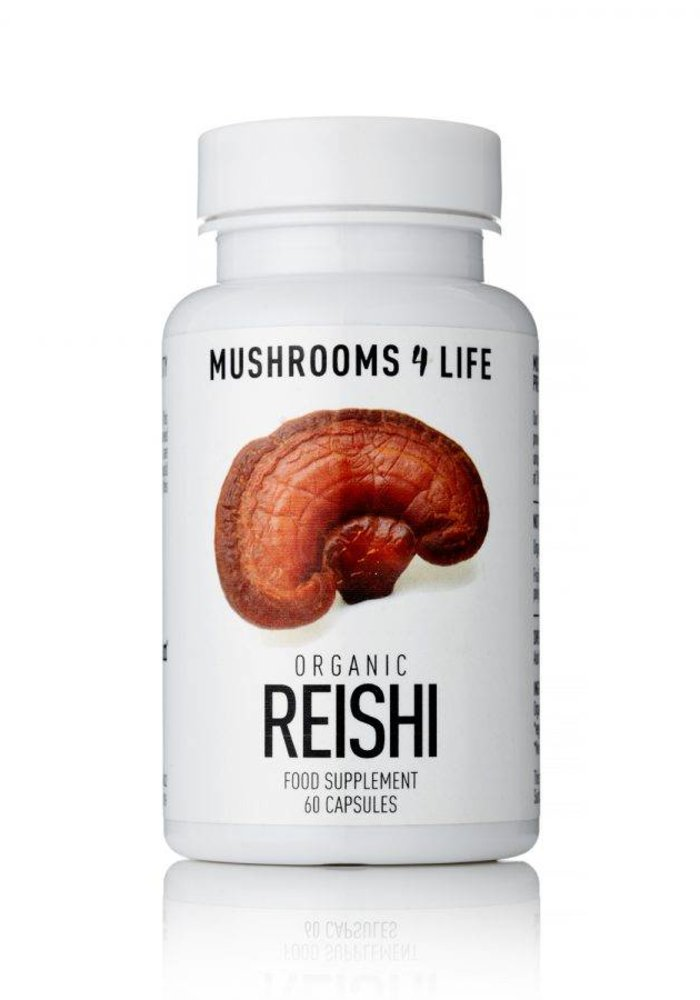 Organic Reishi Capsules