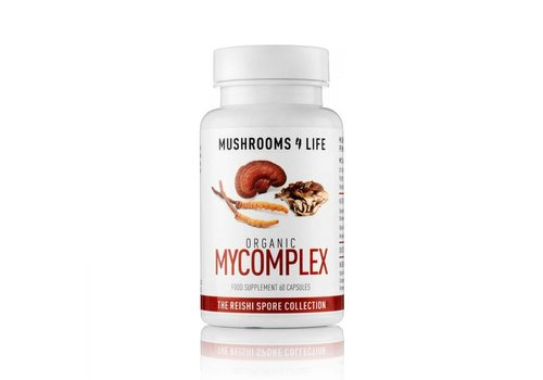 Mushrooms 4 Life Organic Mycomplex