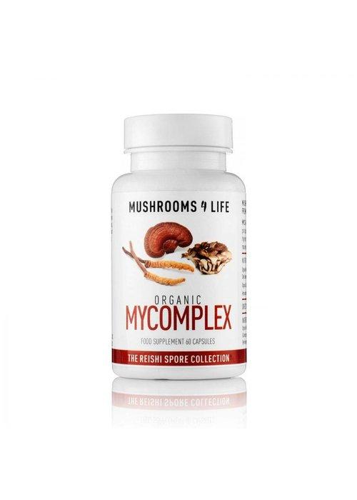 Mushrooms 4 Life Organic Mycomplex Capsules