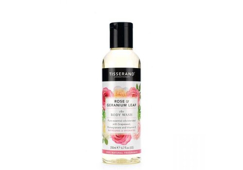 Tisserand Body Wash - Rose and Geranium
