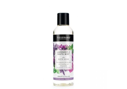 Tisserand Bath Soak - Lavender and White Mint