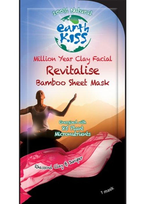 Earth Kiss Face Mask: Million Year Clay Facial Revitalise