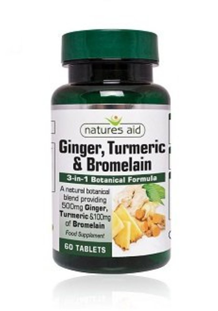 Ginger, Turmeric & Bromelain