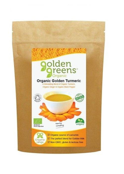 Golden Greens Organic Golden Turmeric