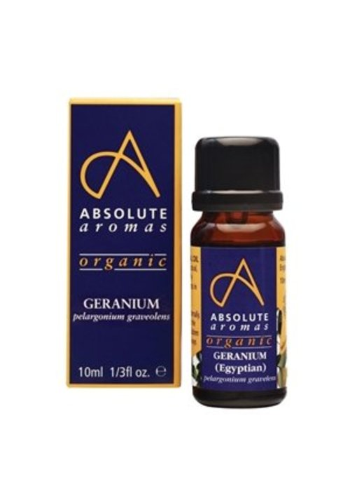 Absolute Aromas Essential Oil: Geranium (Egyptian): Organic