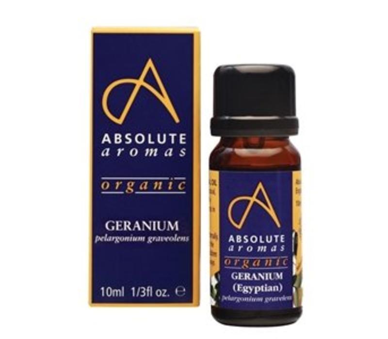 Essential Oil: Geranium (Egyptian): Organic:10ml