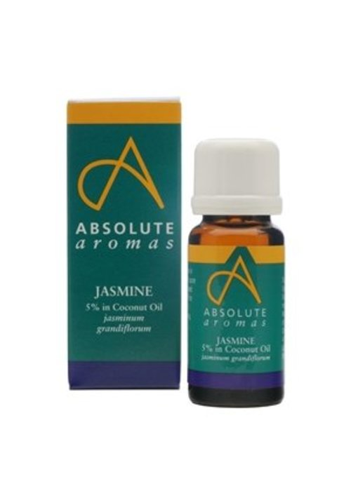 Absolute Aromas Essential Oil: Jasmine (5% Dilution)