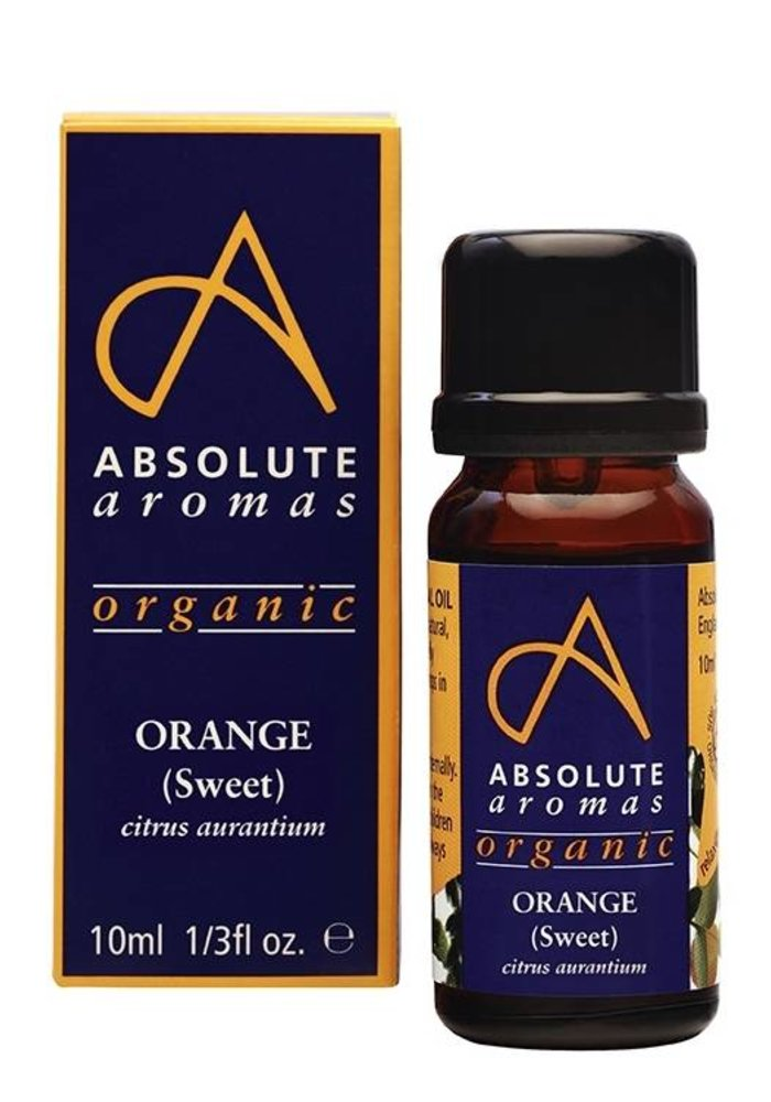 Essential Oil: Orange (Sweet): Organic: 10ml