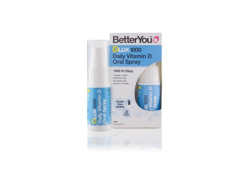 BetterYou Dlux 1000 Oral Spray 15ml