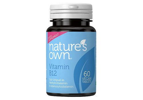 Nature's Own Vitamin B12 60 Sub-lingual tablets