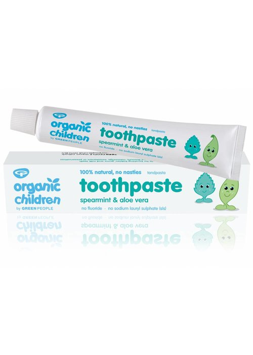 Green People Organic Children Spearmint and Aloe Vera Toothpaste