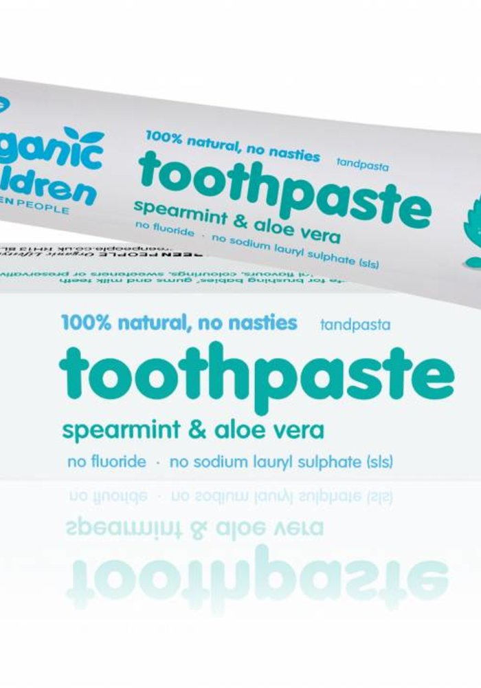 Organic Children Spearmint and Aloe Vera Toothpaste