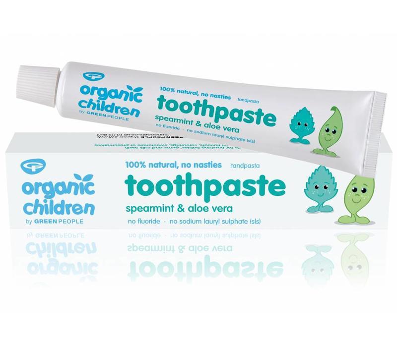 Organic Children Spearmint and Aloe Vera Toothpaste