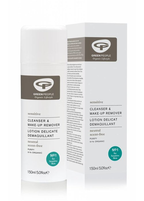 Green People Neutral Scent Free Cleanser & Make-up Remover