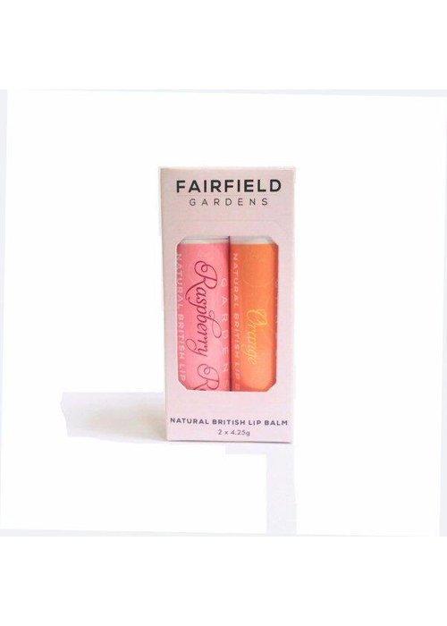 Fairfield Gardens Lip Balm Twin Pack - Fruity