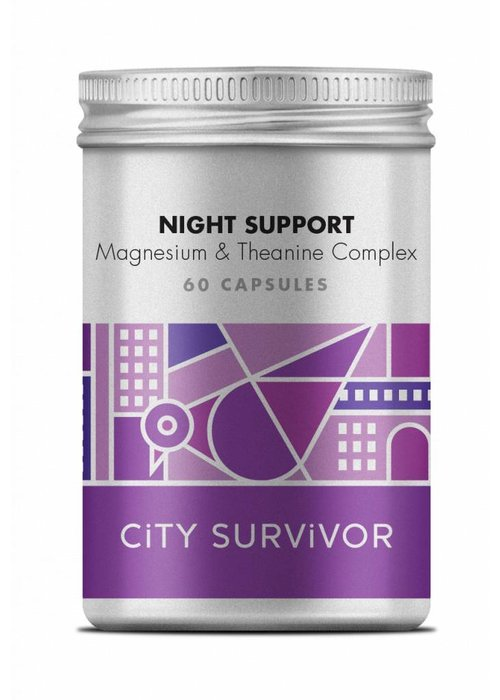 City Survivor Night Support Magnesium & Theanine Complex