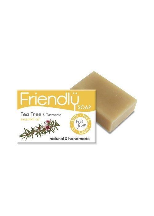 Friendly Soap Handmade Soap: Tea Tree Bar 95g