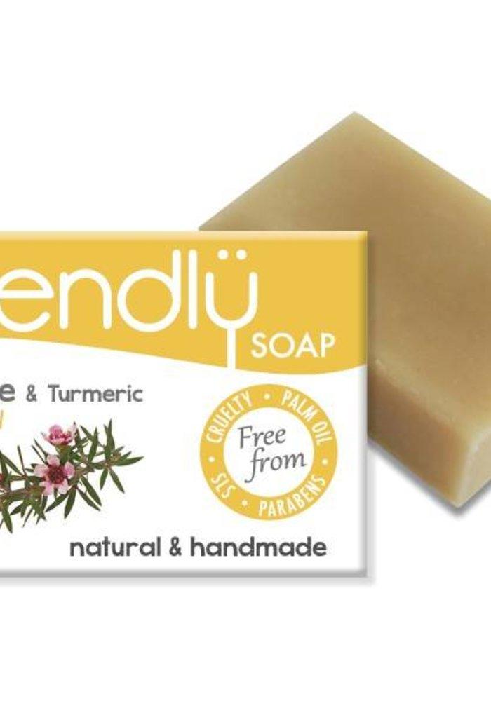 Handmade Soap: Tea Tree Bar 95g