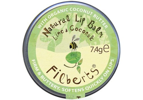 Filberts of Dorset Lip Balm: Lime and Coconut Natural 7.4g
