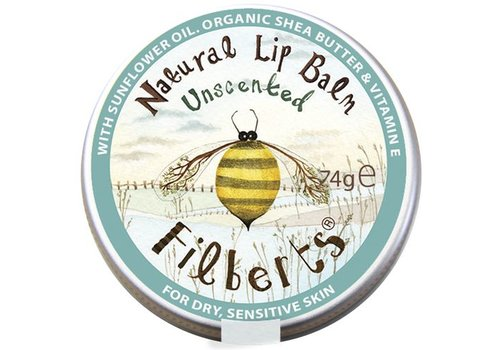 Filberts of Dorset Lip Balm: Unscented Natural 7.4g