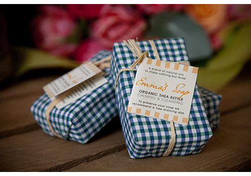 Emma's Soap Organic Shea Butter Soap: Calming and Cleansing 85g