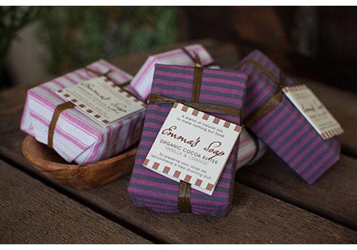 Emma's Soap Organic Cocoa Butter Soap: Vanilla and Orange 85g
