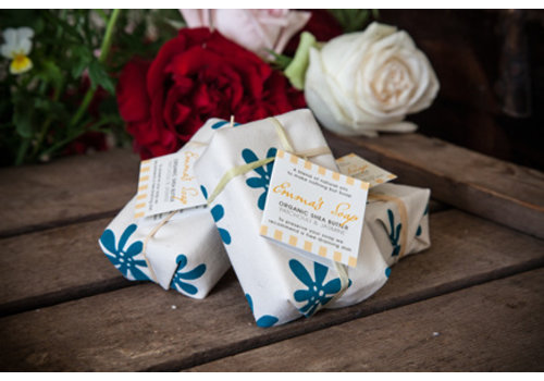Emma's Soap Organic Shea Butter Soap: Patchouli and Jasmine  85g