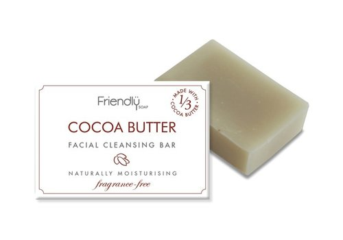 Friendly Soap Handmade Soap: Cocoa Butter Facial Cleansing Bar 95g