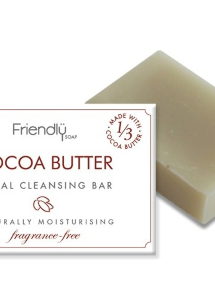 Handmade Soap: Cocoa Butter Facial Cleansing Bar 95g