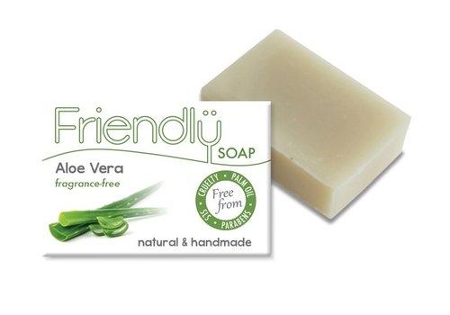 Friendly Soap Handmade Soap: Aloe Vera Bar 95g