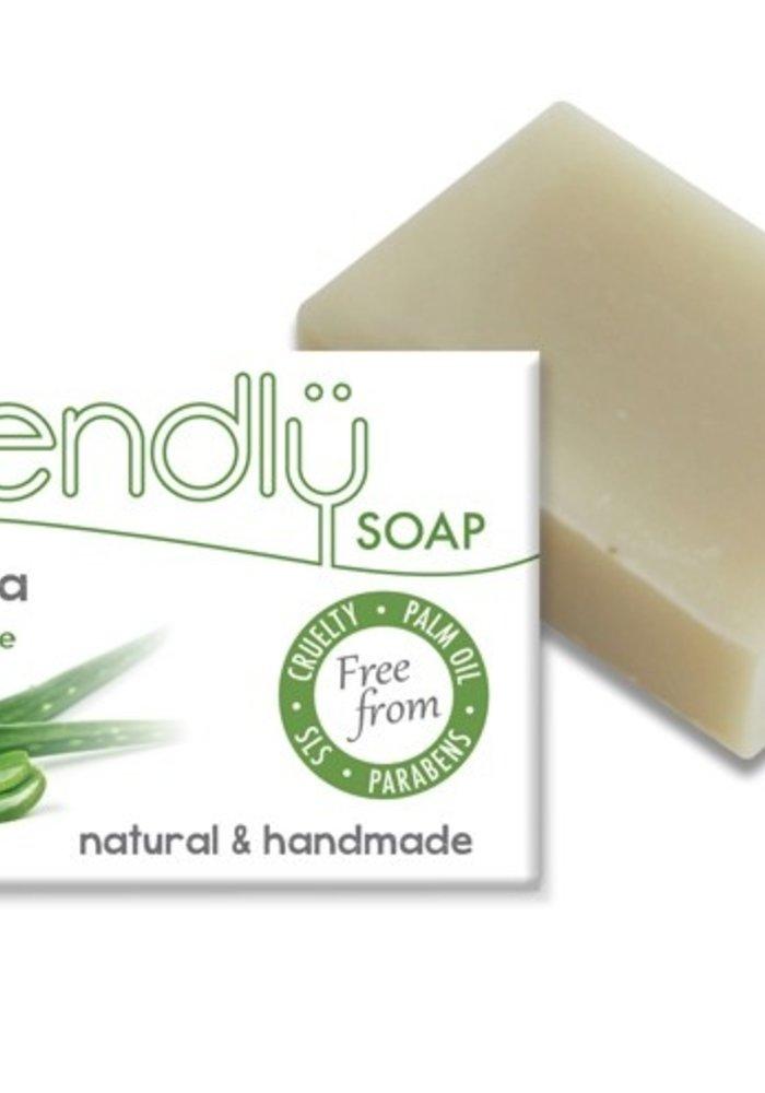 Handmade Soap: Aloe Vera Bar 95g