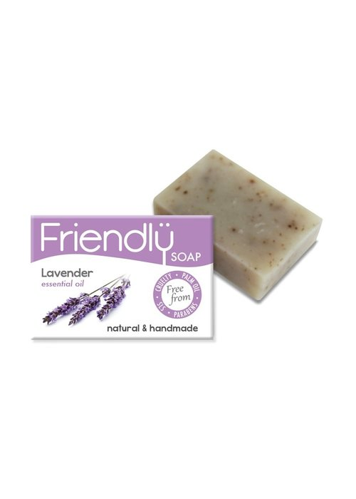 Friendly Soap Handmade Soap: Lavender Bar 95g