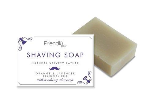 Friendly Soap Handmade Soap: Shaving Soap Bar 95g
