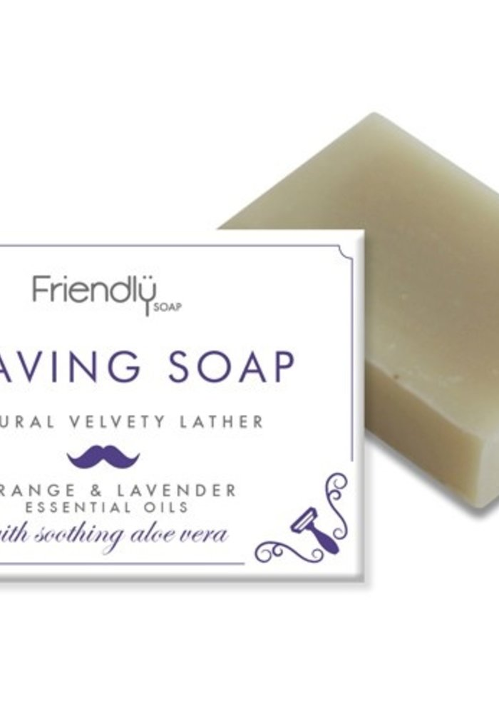 Handmade Soap: Shaving Soap Bar 95g