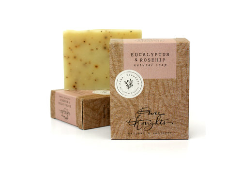 Pure Thoughts Handmade Soap - Eucalyptus and Rosehip