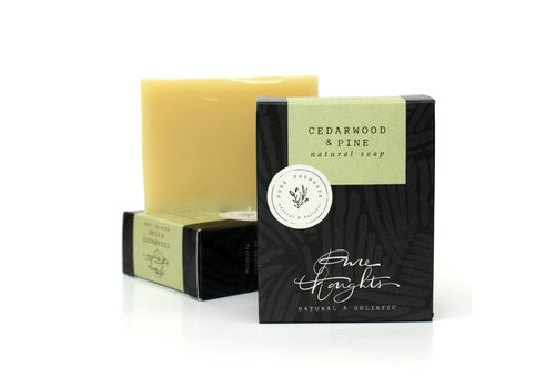 Pure Thoughts Handmade Soap - Cedarwood and Pine