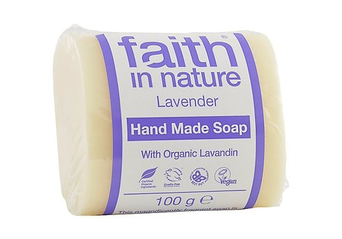 Faith In Nature Soap Bar: Lavender 100g