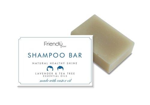 Friendly Soap Handmade Soap: Shampoo Soap Bar, Tea Tree 95g