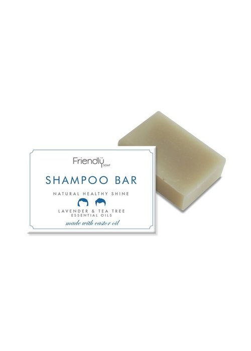 Friendly Soap Shampoo Soap Bar:Tea Tree 95g
