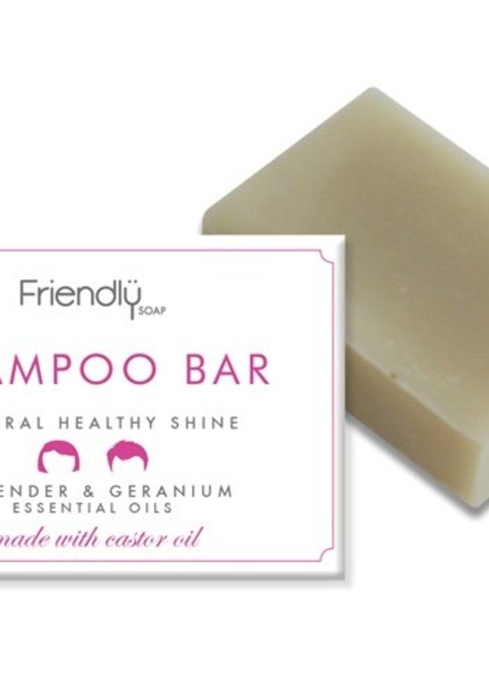 Shampoo Soap Bar: Geranium 95g