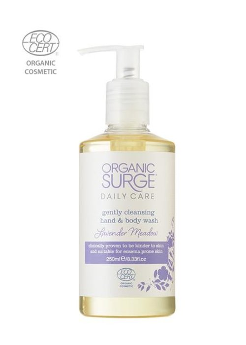 Organic Surge Organic Hand and Body Wash - Lavender Meadow