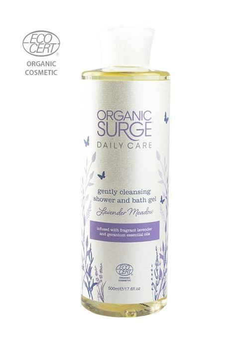 Organic Surge Lavender Meadow Shower and Bath 500ml