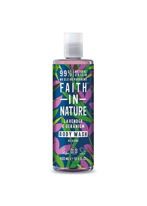 Faith In Nature Body Wash: Lavender and Geranium 400ml