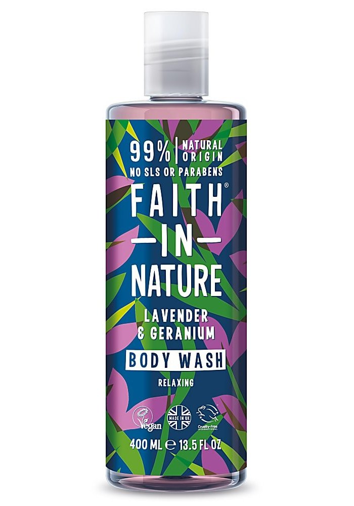 Body Wash: Lavender and Geranium 400ml