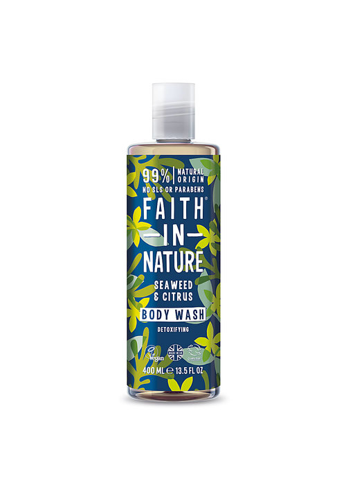 Faith In Nature Body Wash: Seaweed and Citrus Shower 400ml