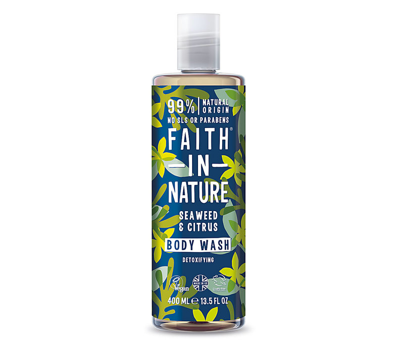 Body Wash: Seaweed and Citrus Shower 400ml