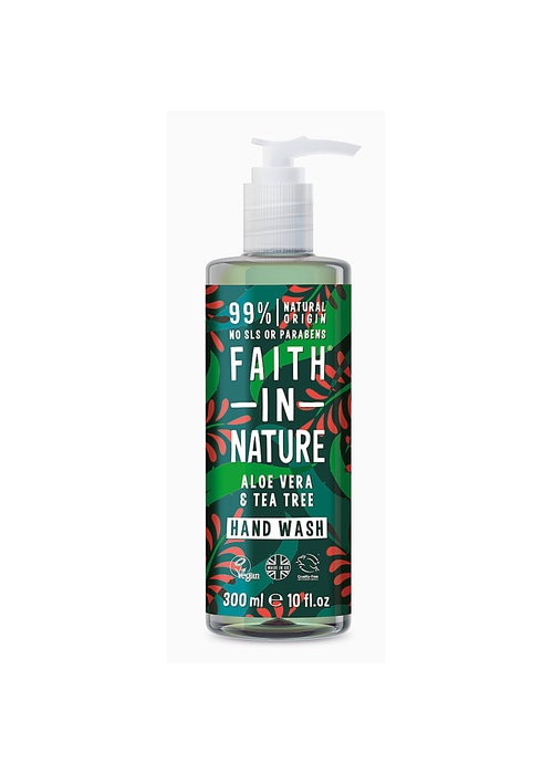 Faith In Nature Hand Wash: Aloe Vera and Tea Tree